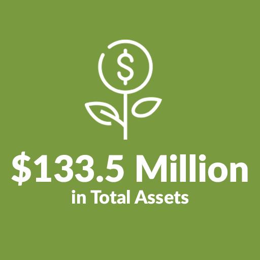 $133.5 Million in Assets