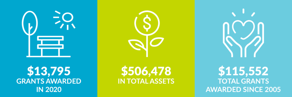 $13,795 grants awarded in 2020. $506,478 total assets. $115,552 total grants awarded since 2005.
