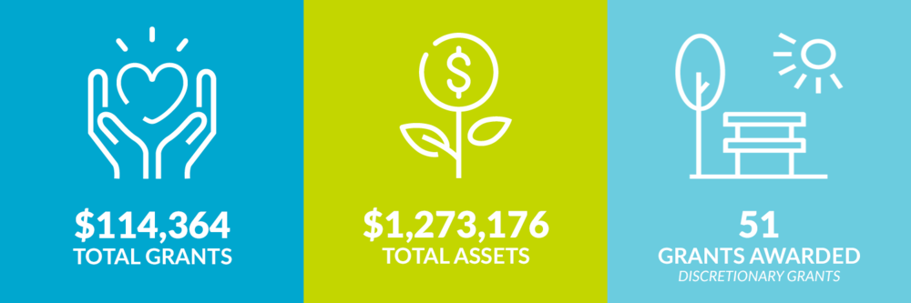 $114,364 total grants. $1,273,176 total assets. 51 discretionary grants awarded.