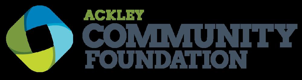 Ackley Community Foundation Logo