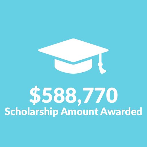 $588,770 Scholarships Awarded