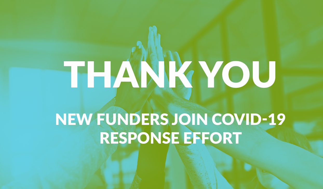 New funders news