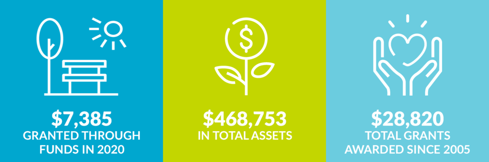 $7,385 grants awarded in 2020. $468,753 total assets. $28,820 total grants awarded since 2005.