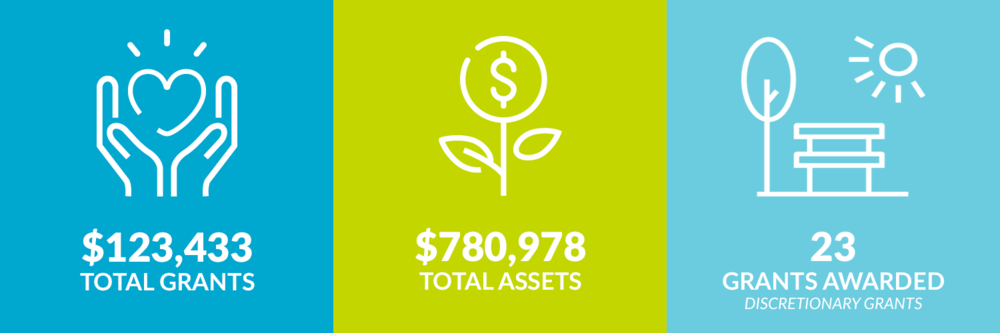 $123,433 total grants. $780,978 total assets. 23 discretionary grants awarded.