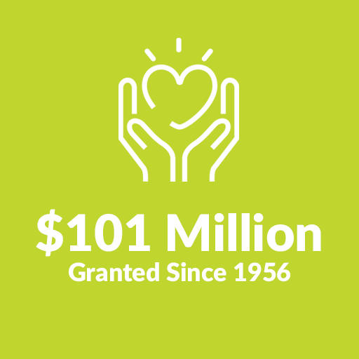 $101 Million Granted since 1956