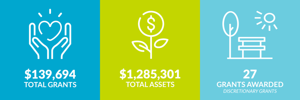 $139,694 total grants. $1,285,301 total assets. 27 discretionary grants awarded.