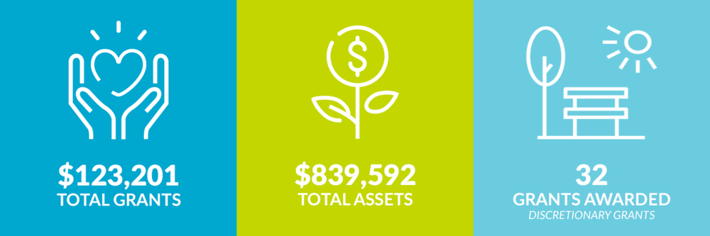 $123,201 total grants. $839,592 total assets. 32 discretionary grants awarded.
