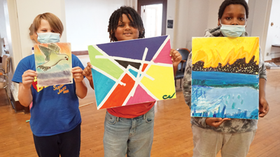 Art Providing Creativity and Connection for Youth